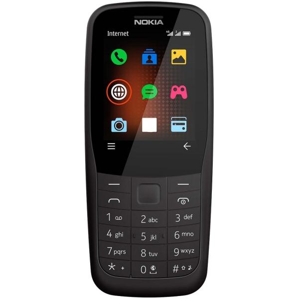 Мобильный телефон Nokia 220 DS Black (TA-1155) фото