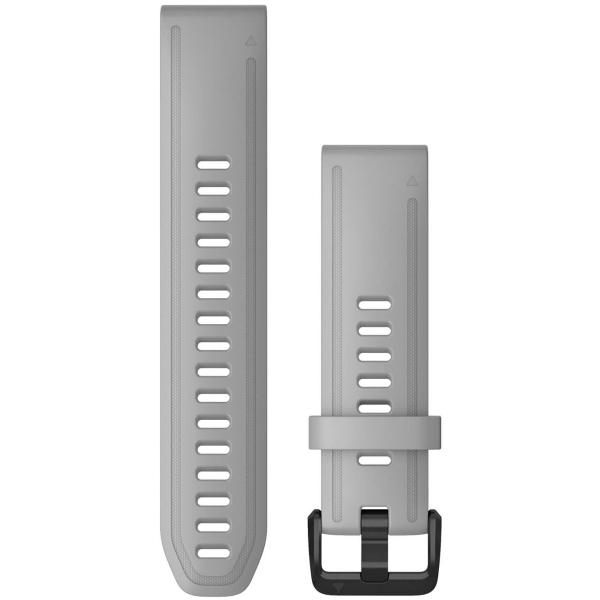 Сменный ремешок для носимого устройства Garmin QuickFit 20 Gray (010-12866-00)