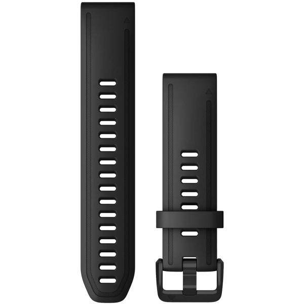 Сменный ремешок для носимого устройства Garmin QuickFit 20 Black (010-12867-00)