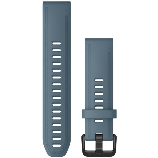 Сменный ремешок для носимого устройства Garmin QuickFit 20 Lakeside Blue (010-12870-00)