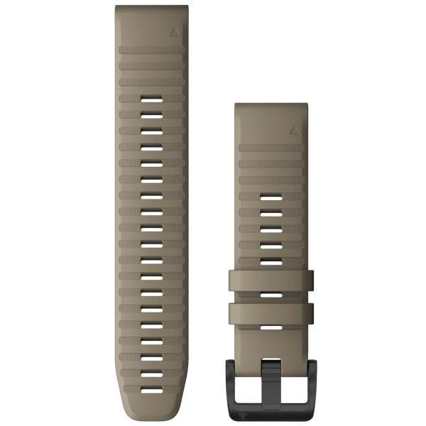 Сменный ремешок для носимого устройства Garmin QuickFit 22 Dark Sandstone (010-12863-02)