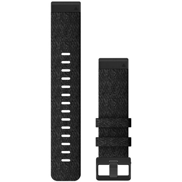 Сменный ремешок для носимого устройства Garmin QuickFit 22 Heathered Black (010-12863-07)
