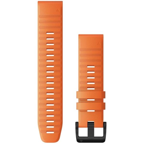 Сменный ремешок для носимого устройства Garmin QuickFit 26 Ember Orange (010-12864-01)