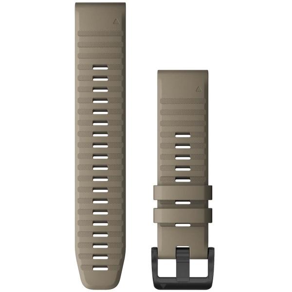 Сменный ремешок для носимого устройства Garmin QuickFit 26 Dark Sandstone (010-12864-02)