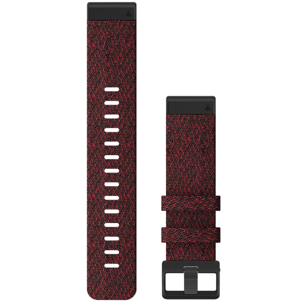Сменный ремешок для носимого устройства Garmin QuickFit 26 Heathered Red (010-12864-06)