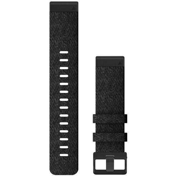 Сменный ремешок для носимого устройства Garmin QuickFit 26 Heathered Black (010-12864-07)