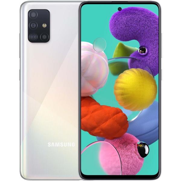 Смартфон Samsung Galaxy A51 128GB White (SM-A515F)