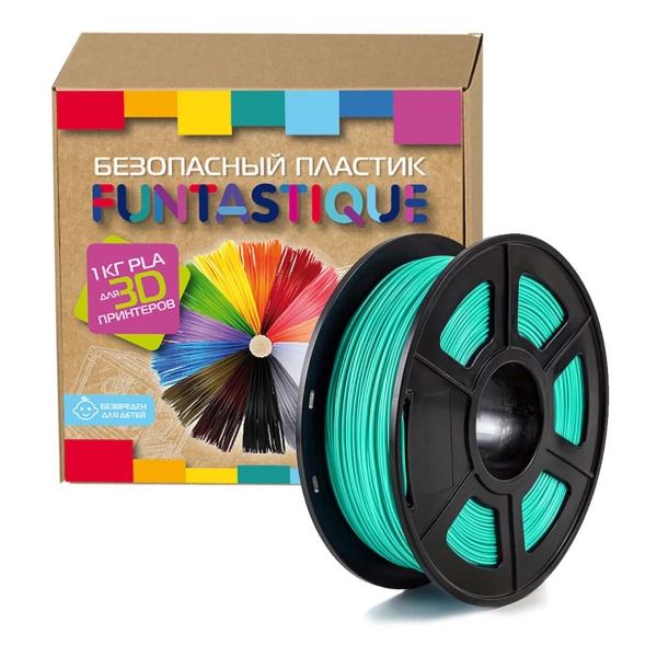 Картридж для 3D-принтера Funtastique PLA-1KG-SW Бирюзовый
