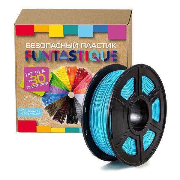 Картридж для 3D-принтера Funtastique PLA-1KG-BM Голубой