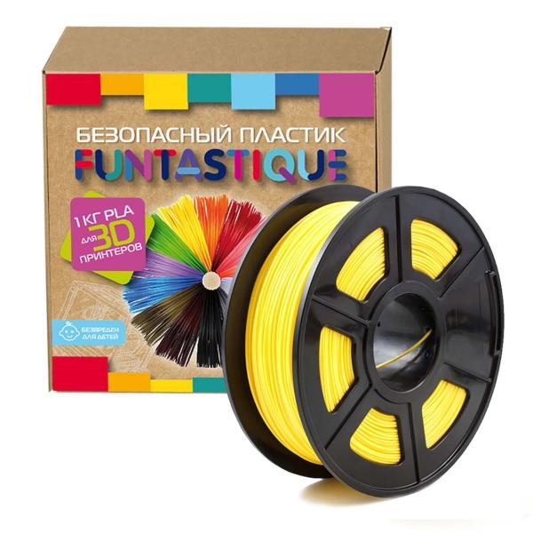 Картридж для 3D-принтера Funtastique — PLA-1KG-YL Желтый