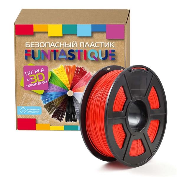Картридж для 3D-принтера Funtastique — PLA-1KG-RD Красный