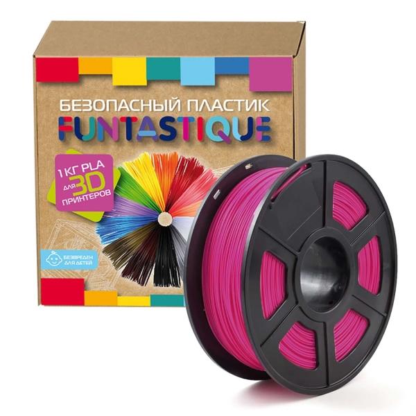 Картридж для 3D-принтера Funtastique — PLA-1KG-RB Малиновый