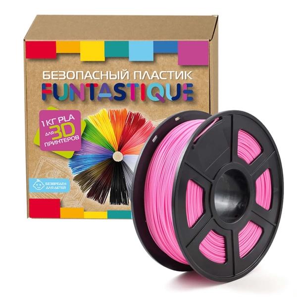 Картридж для 3D-принтера Funtastique — PLA-1KG-PK Розовый