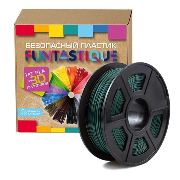 Картридж для 3D-принтера Funtastique — PLA-1KG-DG Темно-зеленый