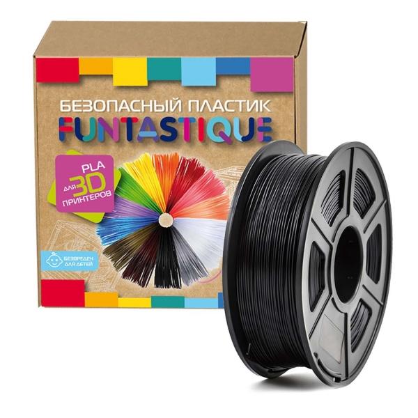 Картридж для 3D-принтера Funtastique PLA-1KG-BK Черный фото