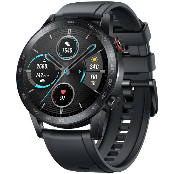 Смарт-часы Honor MagicWatch 2 Charcoal Black (MNS-B19) фото