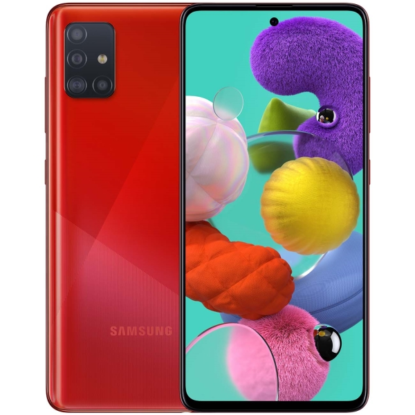 Смартфон Samsung — Galaxy A51 64GB Red (SM-A515F)