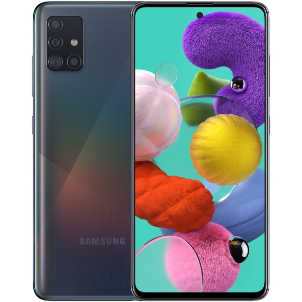 Смартфон Samsung Galaxy A51 64GB Black (SM-A515F)