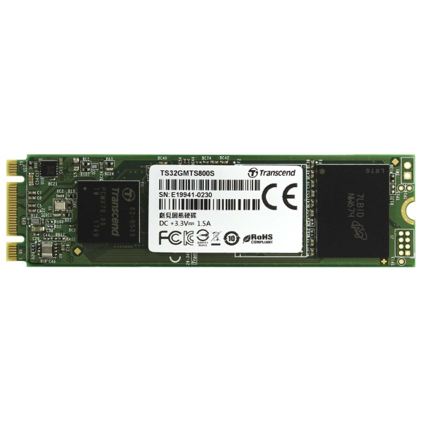 Внутренний SSD накопитель Transcend 32GB 800S (TS32GMTS800S)