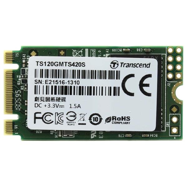 Внутренний SSD накопитель Transcend — 120GB 220S (TS120GMTS420S)