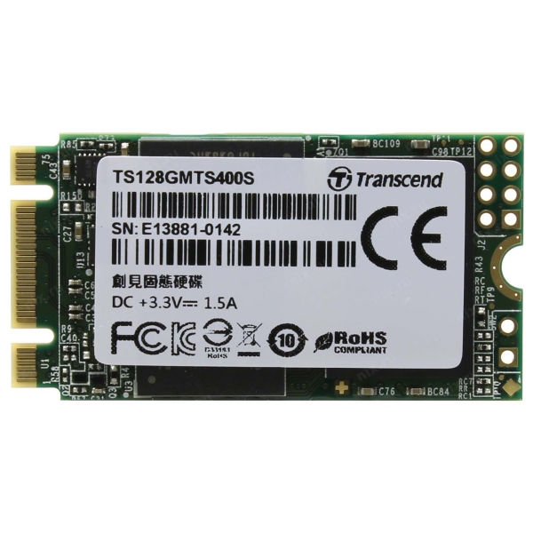 Внутренний SSD накопитель Transcend 128GB 400S (TS128GMTS400S) фото