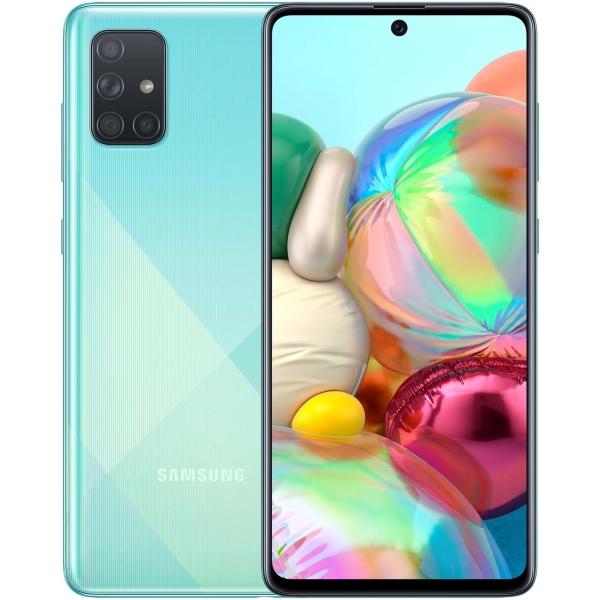 Смартфон Samsung — Galaxy A71 Blue (SM-A715F/DSM)