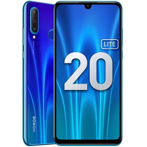 Смартфон Honor 20 Lite 4+128GB Sapphire Blue (MAR-LX1H)