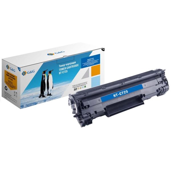 Картридж для лазерного принтера G&G NT-C725 Black для HP LJ P1102/1102w Pro M1130