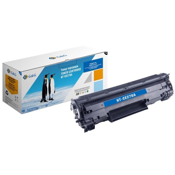 Картридж для лазерного принтера G&G NT-CE278A Black для HP P1560/1566/1606 M1536 фото
