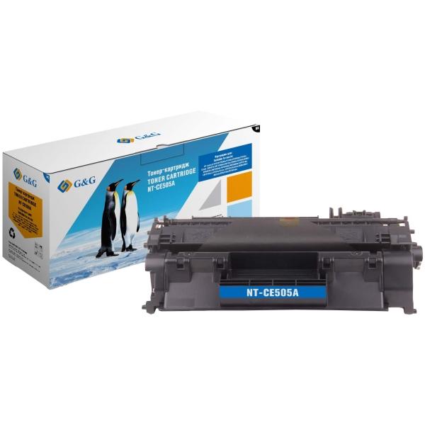 Картридж для лазерного принтера G&G NT-CE505A Black для HP P2035/P2035n/P2055d