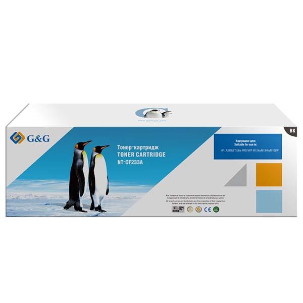 Картридж для лазерного принтера G&G NT-CF233A Black для HP M106w MFP M134a/M134fn