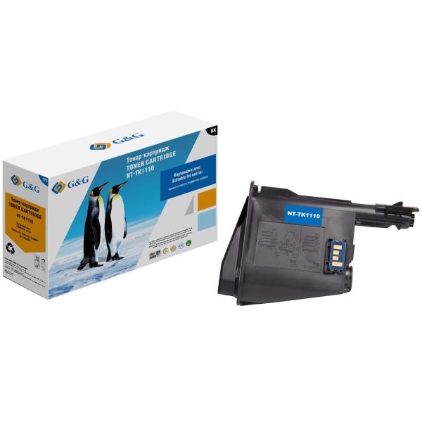 Картридж для лазерного принтера G&G NT-TK1110 Black для Kyocera FS-1040/1020MFP
