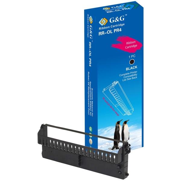 Картридж для лазерного принтера G&G RR-OL PR4 PU Black для Olivetti PR4