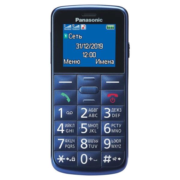 Мобильный телефон Panasonic — KX-TU110 Blue