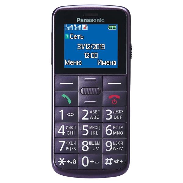 Мобильный телефон Panasonic KX-TU110 Violet