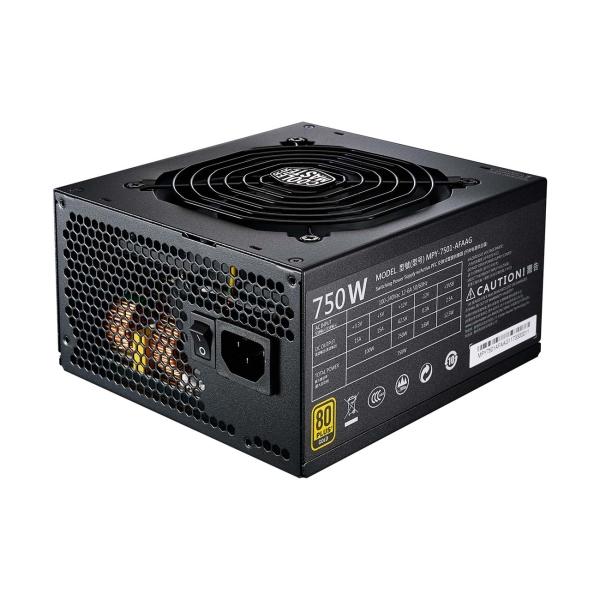 Блок питания для компьютера Cooler Master — 750W MWE Gold Full modular MPY-7501-AFAAG-EU