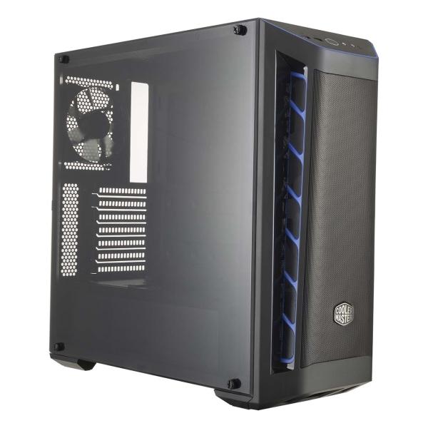 Корпус для компьютера Cooler Master — MasterBox MB511 Mesh Blue trim MCB-B511D-KANN-S03