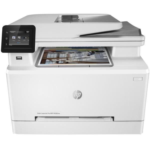 Купить Лазерное МФУ (цветное) HP Color LaserJet Pro M282nw (7KW72A) в каталоге интернет магазина М.Видео по выгодной цене с доставкой, отзывы, фотографии - Москва