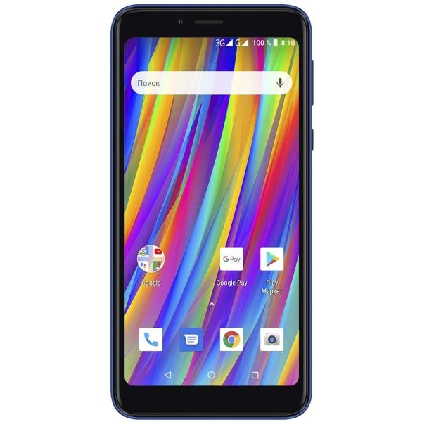 Смартфон teXet — Pay 5 3G Blue (TM-5083)