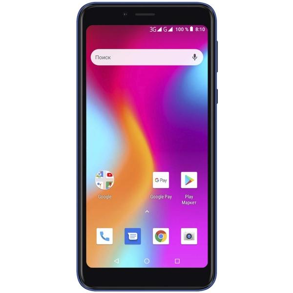 Смартфон teXet — Pay 5.5 3G Blue (TM-5583)