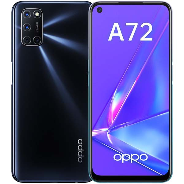 Смартфон OPPO — A72 4+128GB Twilight Black (CPH2067)
