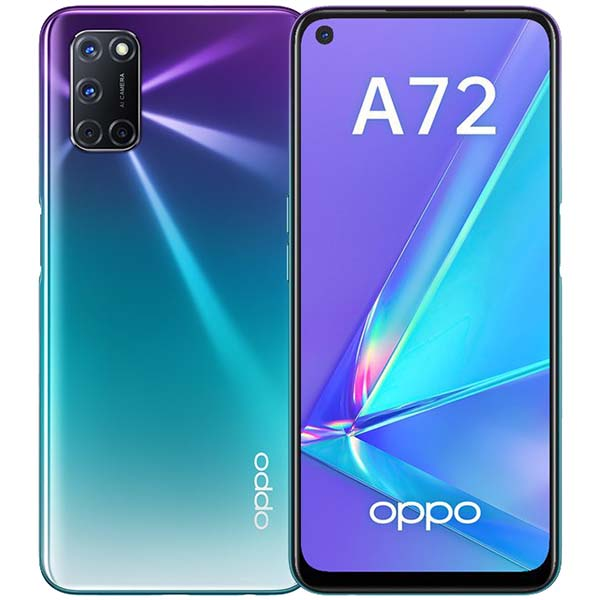 Смартфон OPPO — A72 4+128GB Aurora Purple (CPH2067)