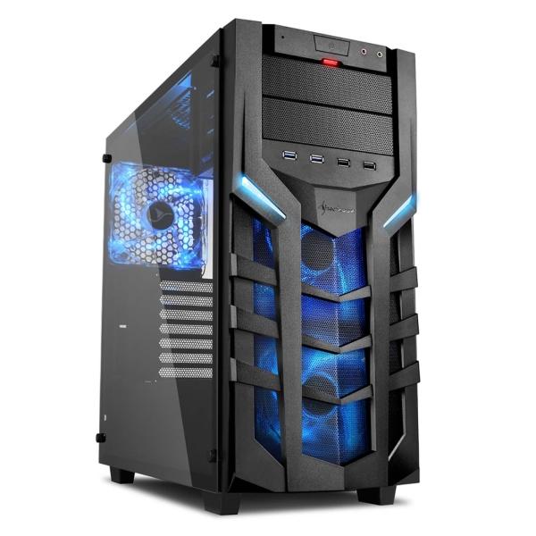 Корпус для компьютера Sharkoon — DG7000-G blue led