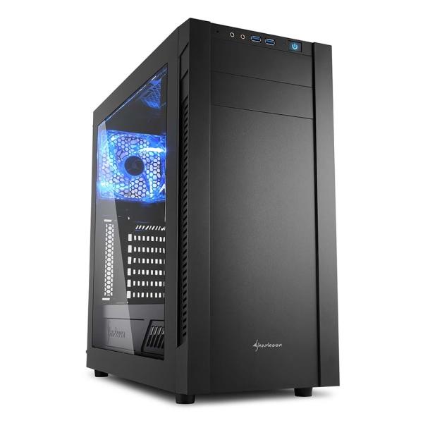 Корпус для компьютера Sharkoon S25-W SHARKOON