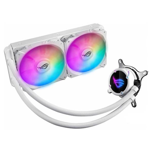 Вентилятор для компьютера ASUS ROG STRIX LC 240 RGB WHITE EDITION
