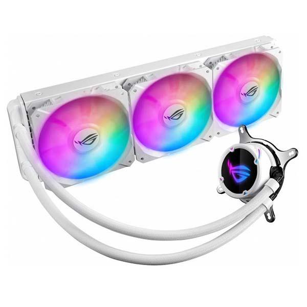 Система водяного охлаждения ASUS ROG STRIX LC 360 RGB WHITE EDITION