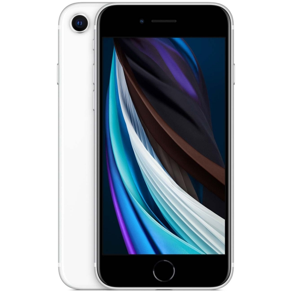Смартфон Apple iPhone SE 2020 128GB White (MXD12RU/A)