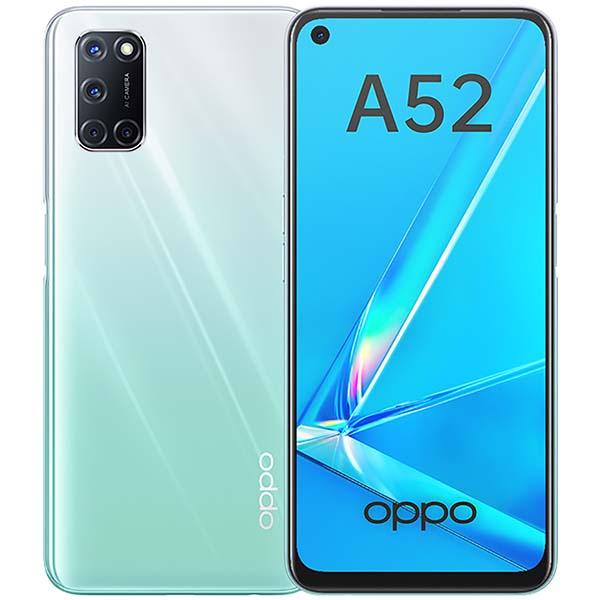 Смартфон OPPO A52 4+64GB Stream White (CPH2069) фото