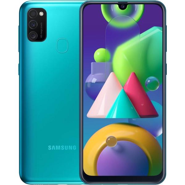Смартфон Samsung — Galaxy M21 64GB Turquoise (SM-M215F/DSN)