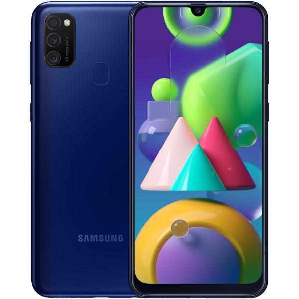 Смартфон Samsung Galaxy M21 64GB Blue (SM-M215F/DSN) фото